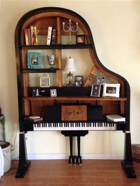 repurposed baby grand piano piano