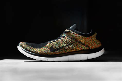 nike free fly knit nike free 4 0 flyknit quot multi color quot hypebeast