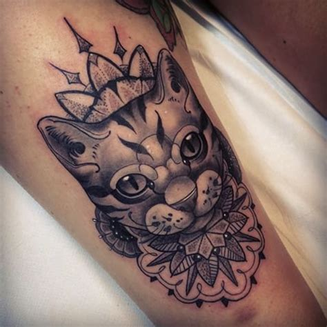tattoo mandala animal r 233 sultats de recherche d images pour 171 cat mandala tattoo
