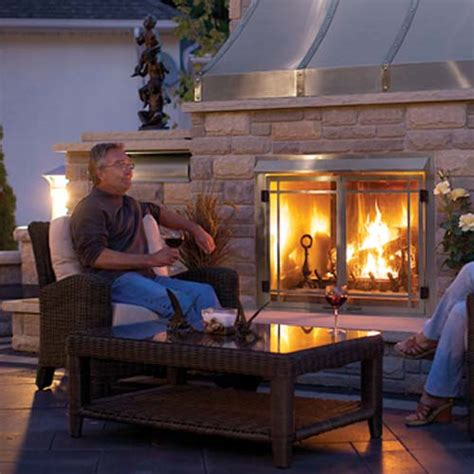home hearth outdoor living