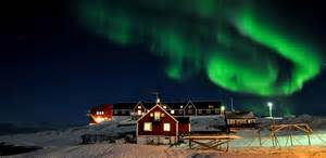 where can i go see lights greenland winter facts about greenland winter