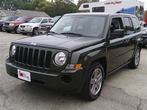 Jeep Patriot 4wd Used Cars Woodstock Used Trucks Algonquin Cary Miro