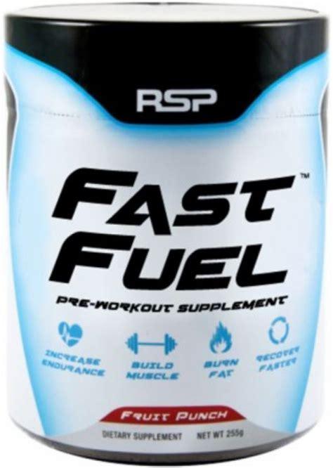 rsp nutrition fast fuel supplement 45 servings