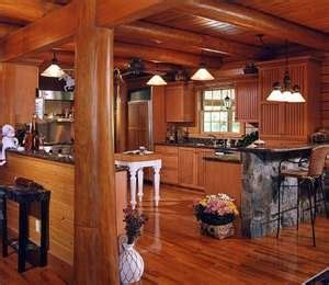 kitchen island with post kitchen island with log post cabin