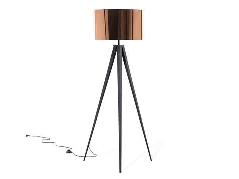 Black Dining Room floor lamp lighting tripod lamp copper stiletto