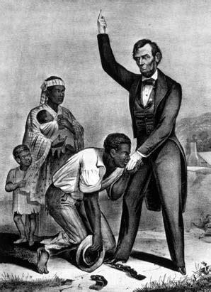 lincoln freeing the slaves tville3b slaverytsw