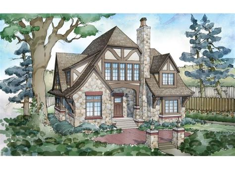 Tudor Home Plans by Tudor House Plan With 5824 Square And 5 Bedrooms From