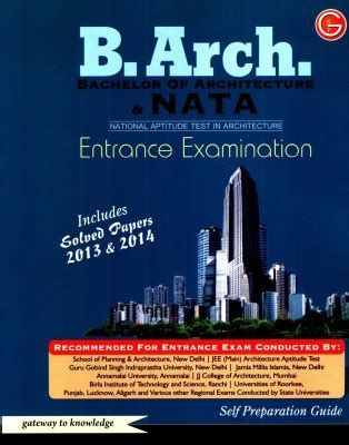 reference books for nata previous year solved question papers of nata