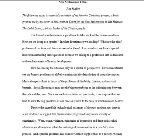 Business Paper Template business paper writing format business essay format and