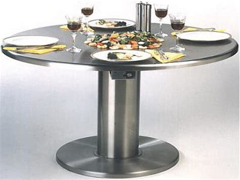 metal kitchen tables bloombety stainless steel kitchen table stainless