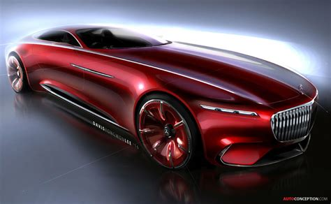 maybach sports car vision mercedes maybach 6 concept officially revealed
