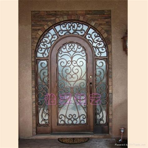 wrought iron exterior door marceladick