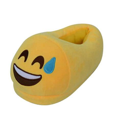 emoji slippers 2017 selling indoor plush emoji slippers china buy