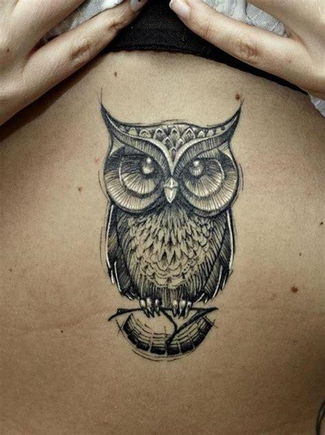 black owl tattoo design 50 owl tattoos for girls