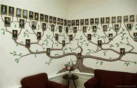 Lds Home Decor wonderful diy amazing family tree wall art