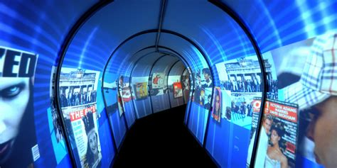 event design work experience exhibition promotional tunnel powered by immersaview