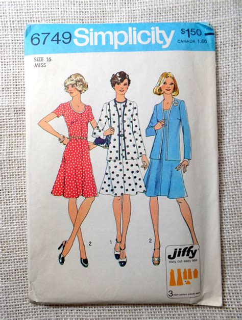 t shirt dress pattern simplicity vintage 1970s sewing pattern simplicity 6749 t shirt dress