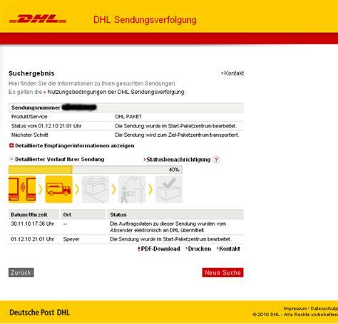 Dhl Auto Verfolgen by Dhl Paketdienst Sendungsverfolgung Tracking Support