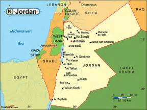 Jordan On World Map by Jordan Political Map By Maps Com From Maps Com World S
