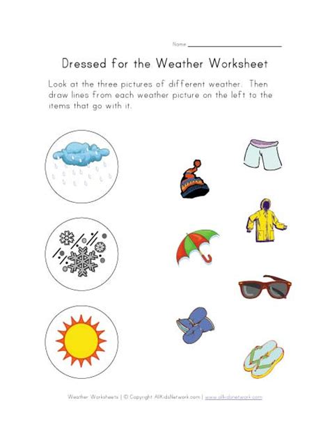 Weather Worksheets by Weather Worksheet