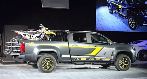 Sale Gm Supercross Racing 2015 chevy colorado z71 performance concept with ricky