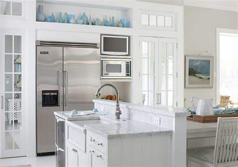 accent color for white and gray kitchen kitchens blue grey paint color design ideas