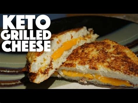 Detox Grilled Cheese by Keto Cauliflower Grilled Cheese Ketogenic Diet Dinner