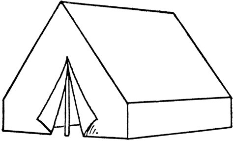 wall tent clipart etc