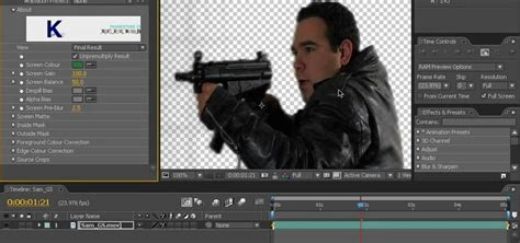 tutorial after effect green screen how to key a green screen using after effects 171 after effects