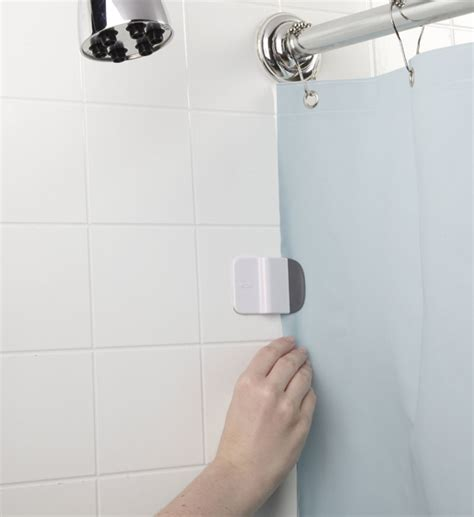 shower curtain clips to wall oxo shower clips in shower curtains and rings