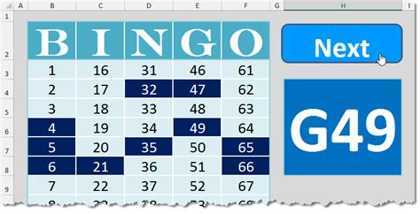 excel template bingo card bingo template how to excel
