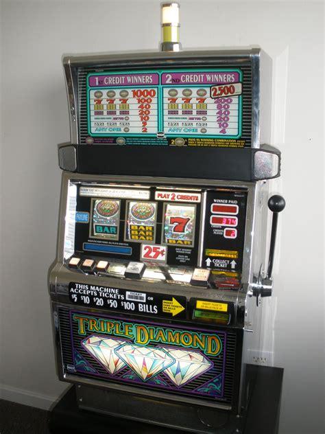 igt triple diamond flat top  slot machine  sale gamblers oasis usa