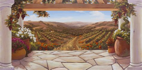 wall murals images napa vineyard wallpaper mural studios
