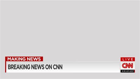 cnn news template mock cnn lower third