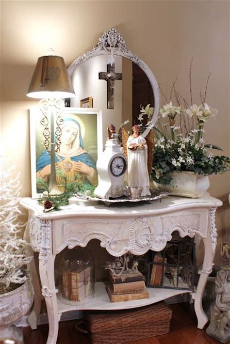 Catholic Home Decor 17 Best Images About Catholic Decor On The White Shabby Chic And Catholic
