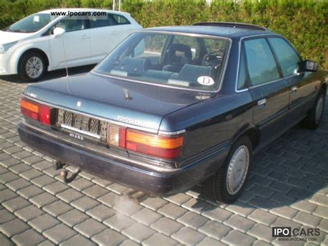 1989 Toyota Specs 1989 Toyota Camry 2 5 V6 Gxi Stainless Car Photo And Specs