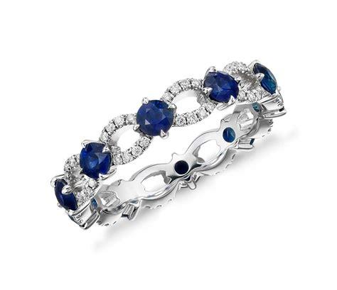 sapphire eternity rings wedding promise