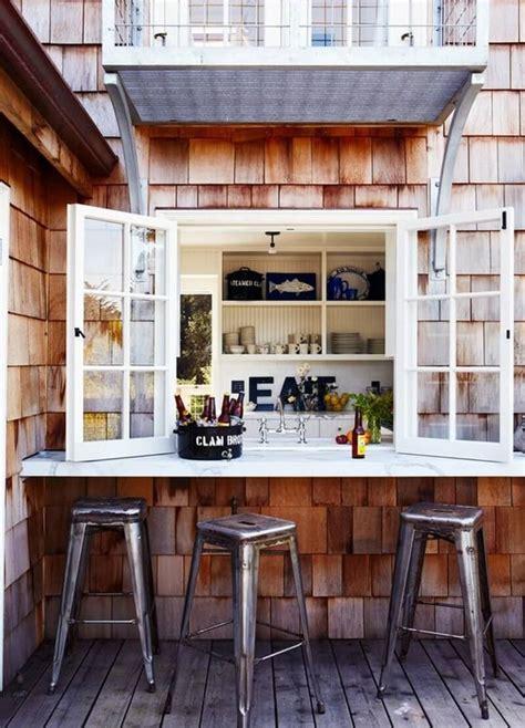 ideas geniales  las cocinas al aire libre