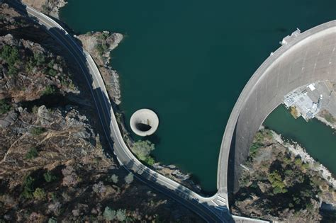 lake berryessa spillway construction dam spillway lake berryessa glory hole napa california