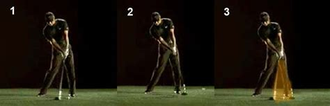 golf swing impact zone hand release actions through the impact zone