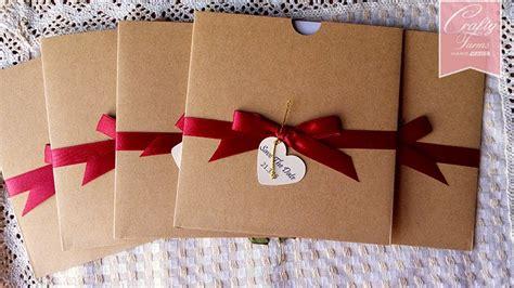wedding invitation card design kl wedding card malaysia crafty farms handmade rustic