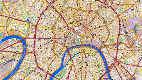 Karten und Stadtpläne Moskau