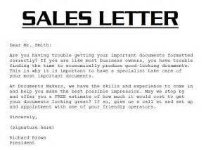 sle sales letter 3000