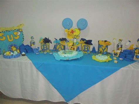 baby shower de patito de hule decoraci 243 n mesa baby