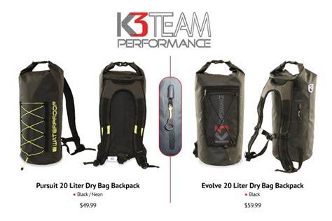 Dijamin Bag 20 Liter Pack Ransel Waterproof k3 pursuit waterproof bag backpack best waterproof bag backpack 20 liters k3