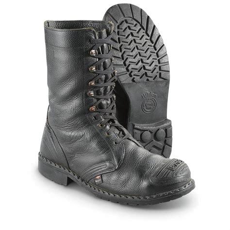 used swedish surplus steel toe boots 580026