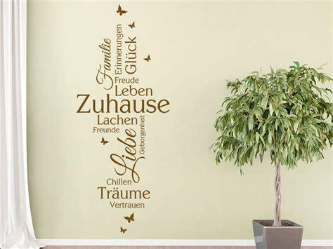 Familien Motive 4504 by Wandtattoo Zuhause Familie Liebe Gl 252 Ck Bei