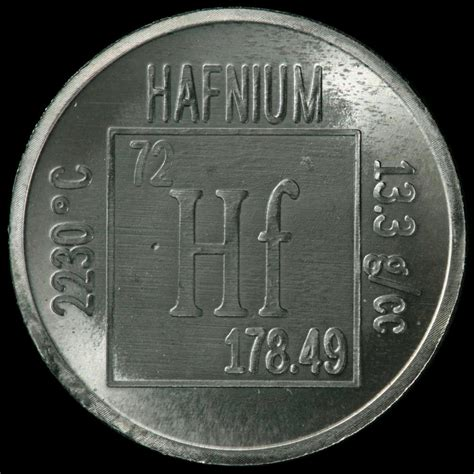 Hf Periodic Table by Hafnium Definition What Is