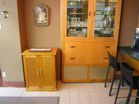 stand alone maple cabinet and radiator cover by