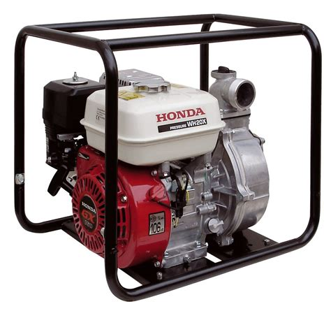 honda wh20 high pressure water